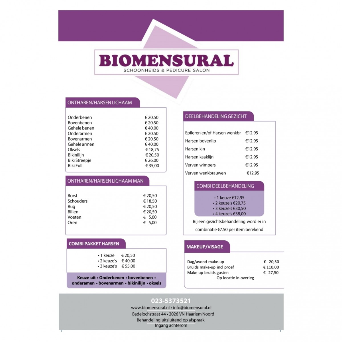 photo - Biomensural Schoonheids & Pedicure Salon